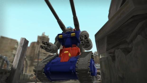 【MMD-OMF8】ガンタンク【モデル配布】