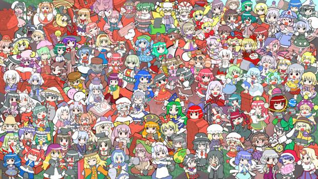第10回東方ニコ童祭のイラスト