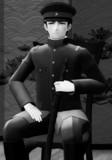 【MMD】モノクロームポートレート 2
