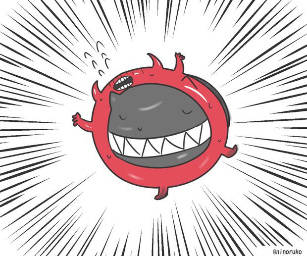 深海浮き輪×たこ焼き