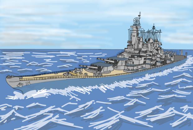 ルイジアナ級戦艦