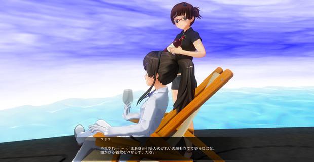 連日静画小説「彼女は今」(7)