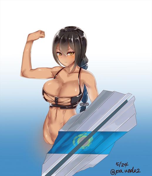 サウスダコタの筋肉