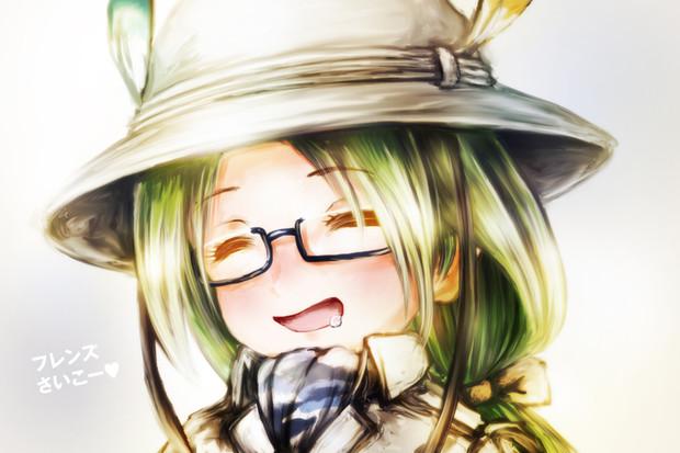 全てのフレンズにミライはやさしく微笑む。