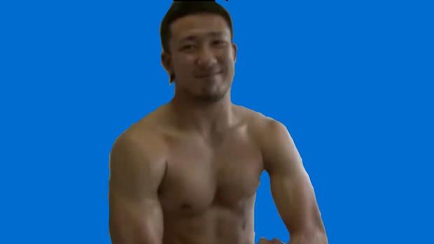 マッチョして♡INUEコーチ.BB