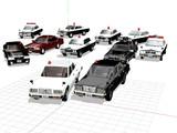 【MMD】自作の警察車輌を集めてみた。