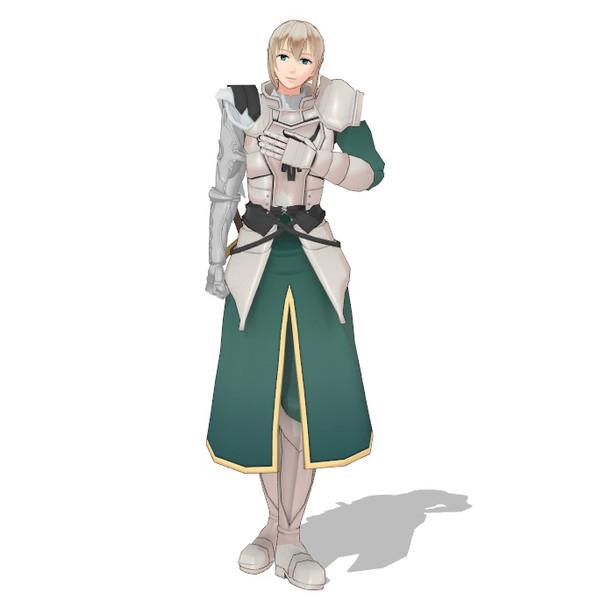 【Fate/MMD】ベディヴィエールモデルとりあえずツリー登録用