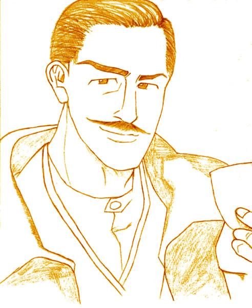 漫画版『海賊とよばれた男』より、日田重太郎さん