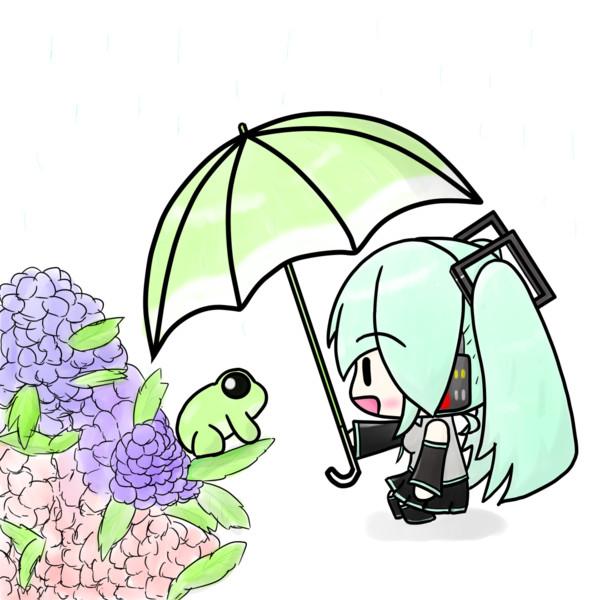 雨の日の探索