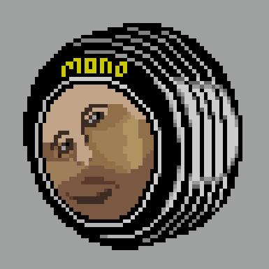 【ドット絵】mono tyre(猿タイヤ)【リサイクル】