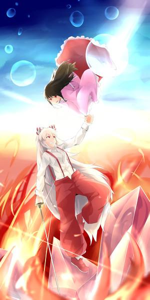 紅蓮と蒼海