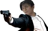 銃を構えるONDISK