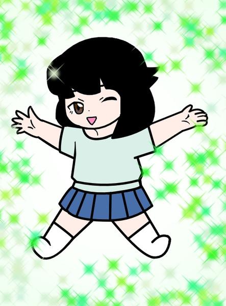 幼女時代の竜神智子