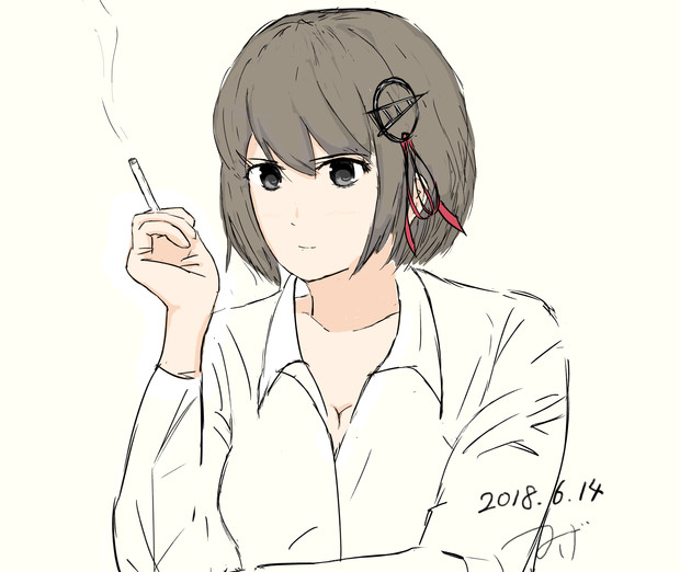 羽黒と煙草