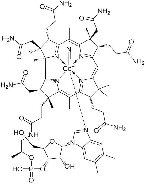 シアノコバラミン