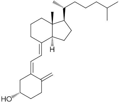 コレカルシフェロール(ビタミンD₃)