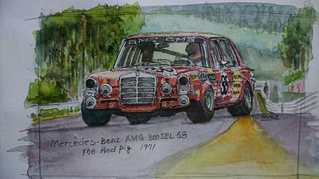 300SEL 6.8 AMG 1971