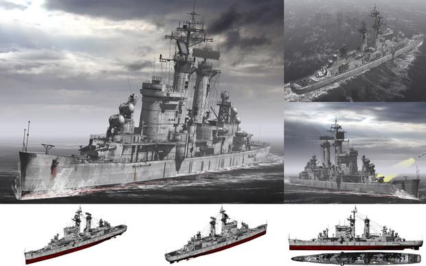 MMD用モブミサイル巡洋艦1960(モーブバニー)セット