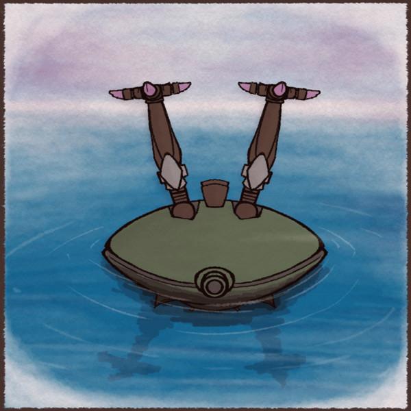 ビグザムの浮輪