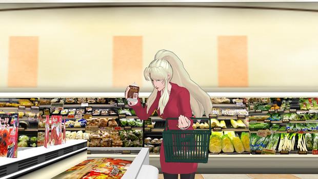 【まめる式ブラクラ静画展】夜、とあるスーパーにて・・・