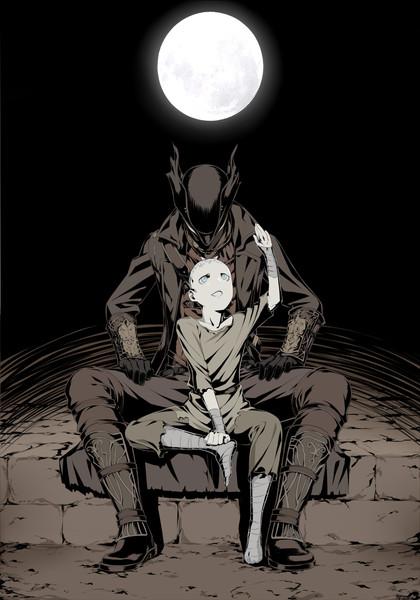 狩人と少年
