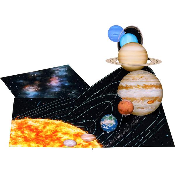ポップアップカード (太陽系)