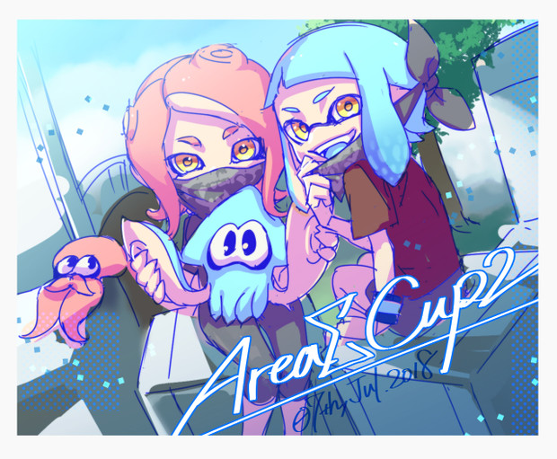 【AreaΣ】AreaΣCup2 応援イラスト
