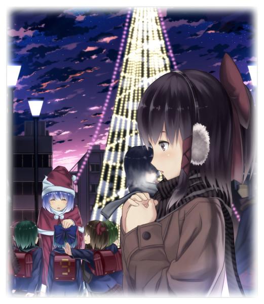 現代東方でクリスマス
