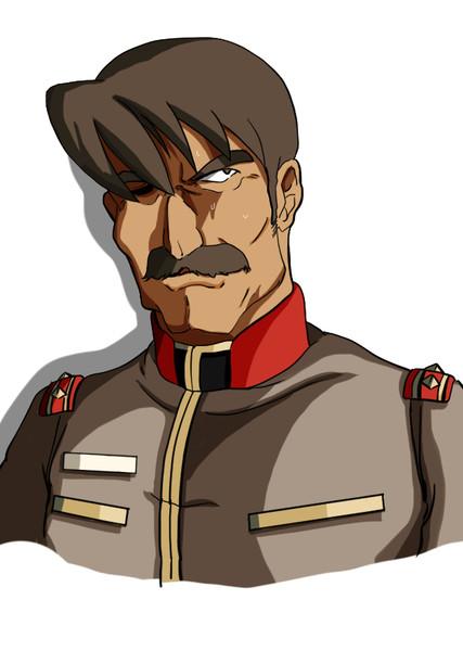 全てを悟った地球連邦軍東南アジア方面軍イーサン・ライヤー大佐