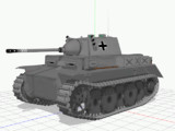 【MMD陸軍】 2号戦車L型 ルクス