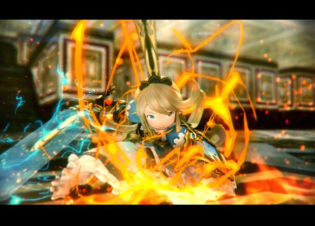 【MMD】聖騎士団団長の力をお見せするであります【グランブルーファンタジー】