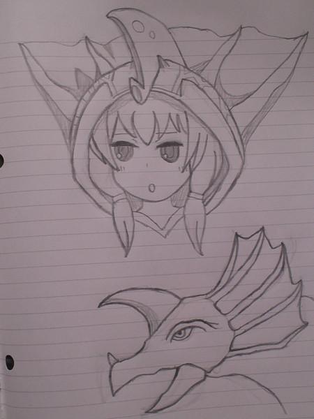アギラとアギちゃん