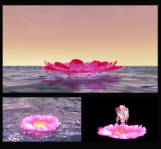 Flowerステージ&スカイドーム
