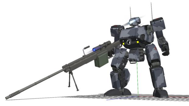 コザック[フリークアウト]+試作狙撃砲