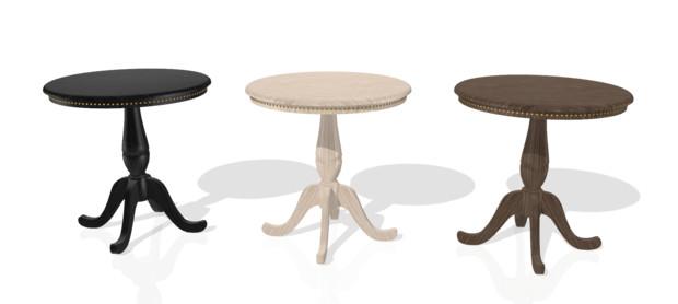 ヨーロッパ式の茶卓