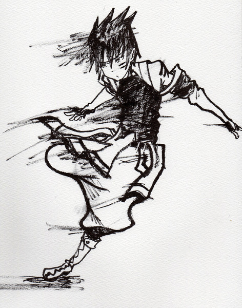 真空のジン 筆ペン カオスシープ さんのイラスト ニコニコ静画