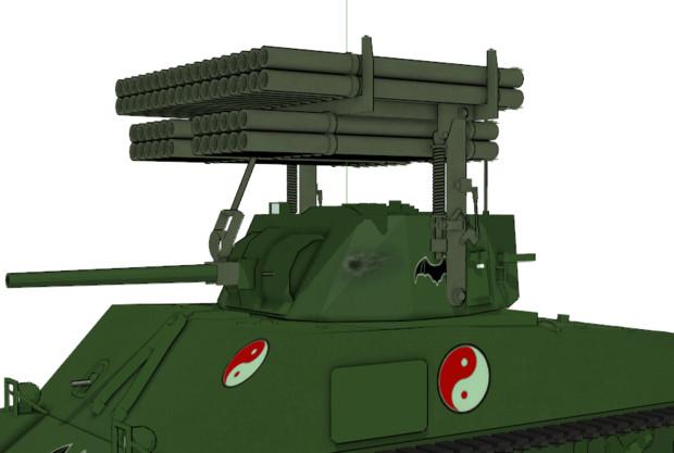 【MMD】T34カリオペ改造キット