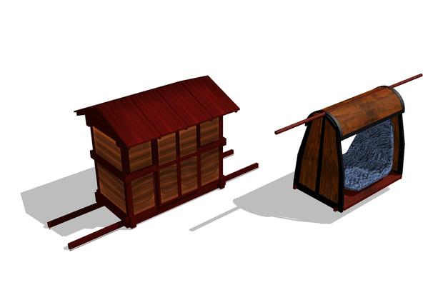 bst20180728昭和初期の駕籠1号2号