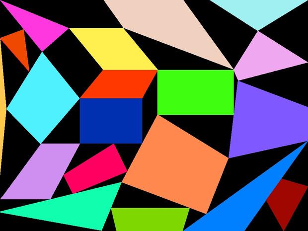三角と四角の色々_ver.b