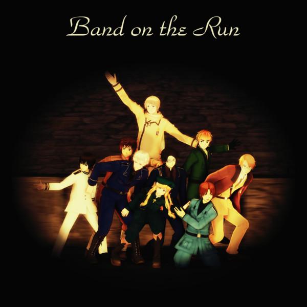 Band On The Run【MMDジャケットアート杯】