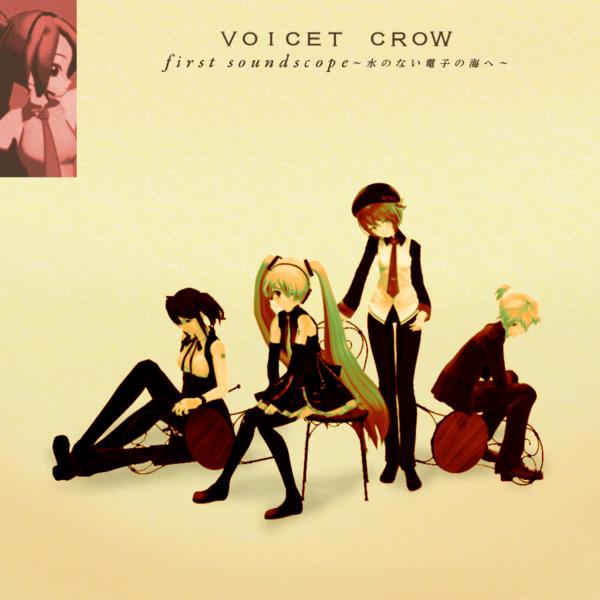 【MMDジャケットアート杯】VOICET CROW【MMD】