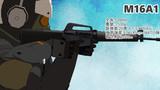 【MMD】MMD銃器紹介 No.3「M16A1」