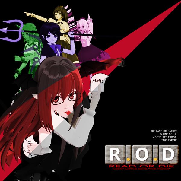 【MMDジャケットアート杯】R.O.D OST