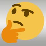 【MMDモデル配布】Thinking Face Emoji