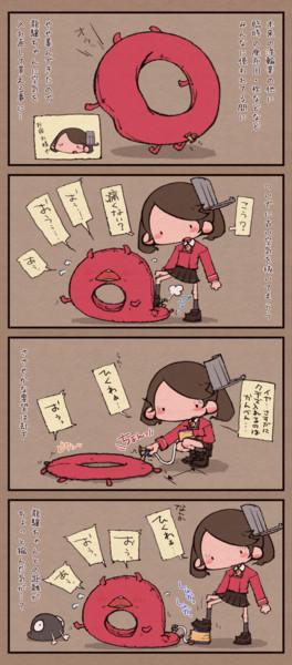 浮輪と龍驤 というお話(きかんしゃトーマス風