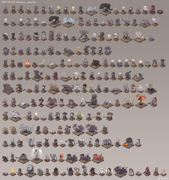 dark souls3 all characters.