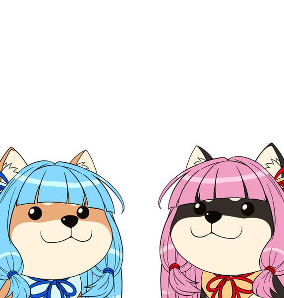 犬っぽくなった琴葉姉妹