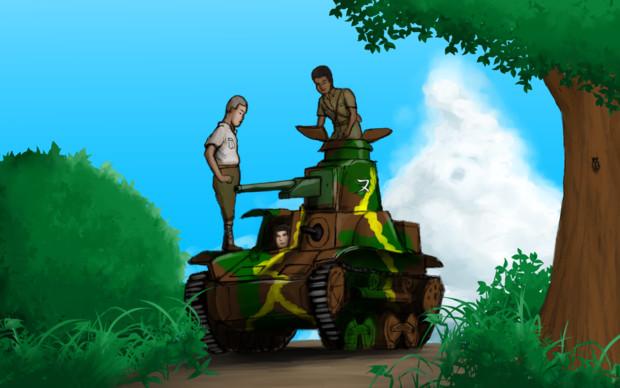迫真戦車部