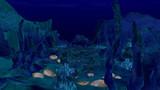 海底渓谷???