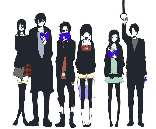 オリジナルキャラ 6人 男女 しゅか さんのイラスト ニコニコ静